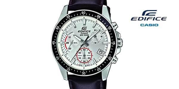 oferta reloj casio edifice chrono efv 540L 7AVUEF marron chollo amazon SuperChollos