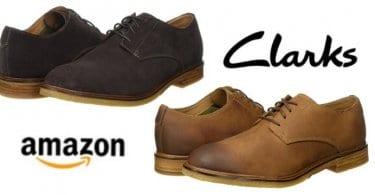 oferta zapatos clarks marrones amazon baratos SuperChollos