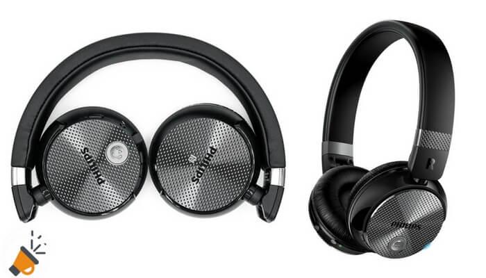 Auriculares inala%CC%81mbricos Philips SHB8850NC00 SuperChollos