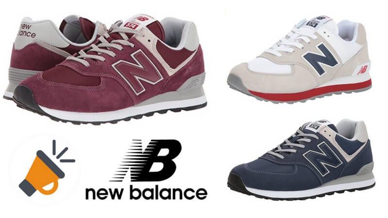 CHOLLAZO! Zapatillas New Balance 574 para hombre solo 43 ...