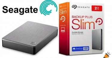 Seagate Backup Plus Slim SuperChollos