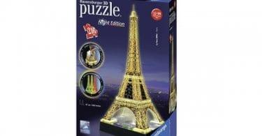 puzzle ravensburger 3d tour eiffel chollo amazon oferta caja SuperChollos
