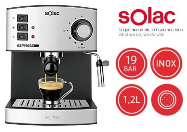 Cafetera Solac Espresso CE4480 barata SuperChollos