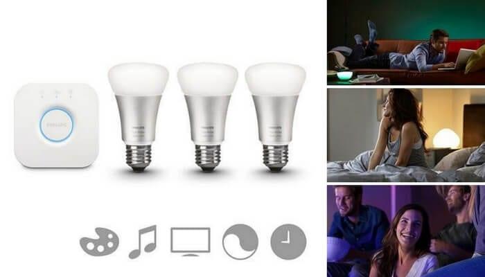 oferta pack bombillas intiligentes iluminacion white and colour barato SuperChollos