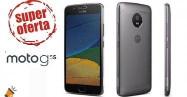 Moto G5s amazon SuperChollos