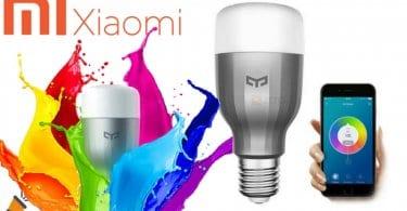 Bombilla LED Xiaomi Yeelight RGBW E27 SuperChollos
