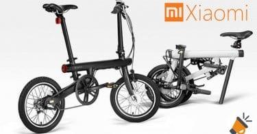 oferta bicicleta electrica plegable xiaomi qi barata SuperChollos