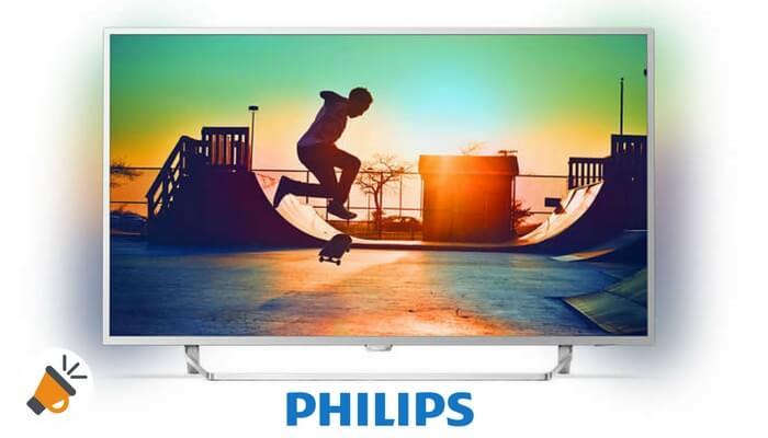 oferta philips smart tv 4k uhd android ambilight barata SuperChollos