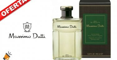 Massimo Dutti Colonia masculina 200 ml descuento amazon SuperChollos