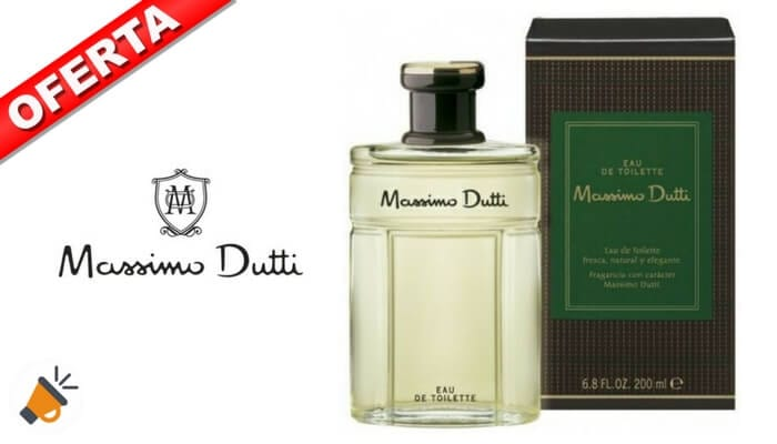 Massimo Dutti Colonia masculina 200 ml descuento amazon SuperChollos