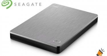 oferta disco duro externo seagate backup plus slim barato SuperChollos