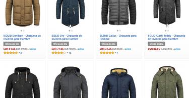 Ofertas amazon chaquetas de invierno hombre baratas SuperChollos