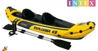 oferta Kayak hinchable Intex Explorer K2 barato descuento amazon SuperChollos