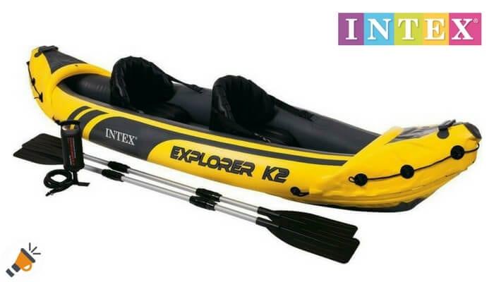 oferta Kayak hinchable Intex Explorer K2 barato descuento amazon SuperChollos