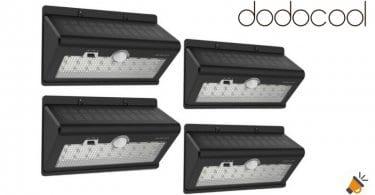 oferta foco exterior dodocool con sensor de movimiento barato SuperChollos