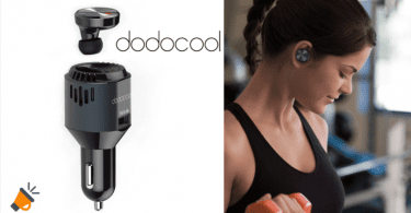 oferta cargador de coche dodocool con auriculares baratos SuperChollos