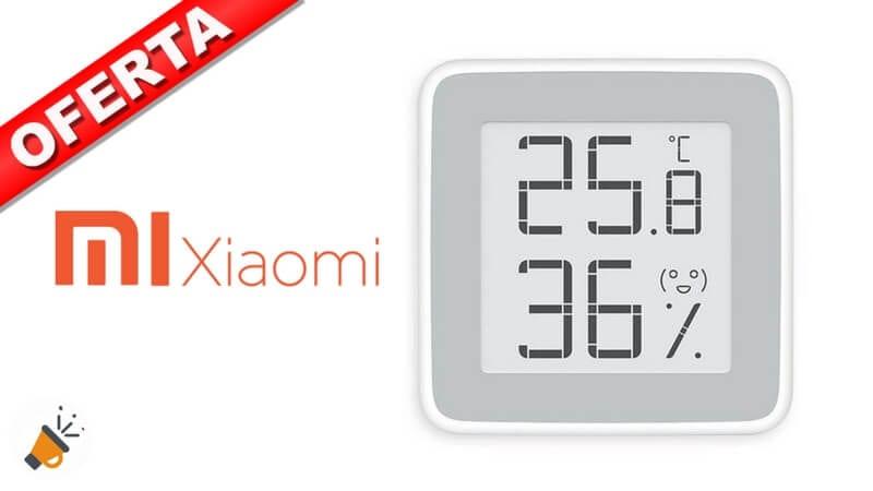 oferta Sensor de temperatura y humedad Xiaomi barato descuento amazon SuperChollos