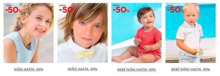 Rebajas moda infantil El Corte ingle%CC%81s ofertas SuperChollos