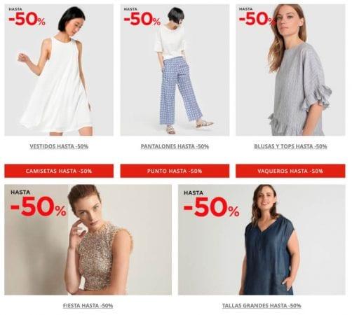 Rebajas Moda Mujer El Corte ingle%CC%81s ofertas SuperChollos