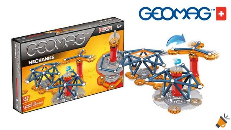oferta Geomag Mechanics 146 piezas barato descuento amazon SuperChollos