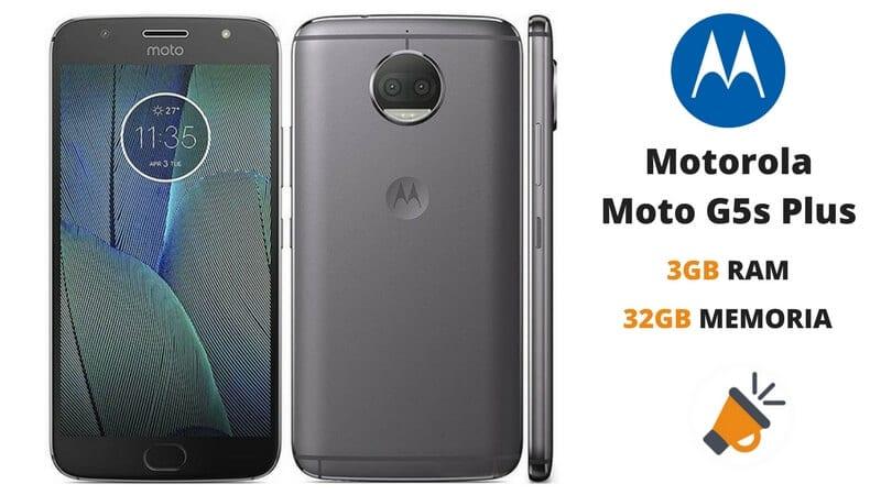 oferta Motorola Moto G5s Plus barato descuento amazon SuperChollos