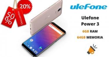 oferta Ulefone Power 3 barato descuento tomtop SuperChollos