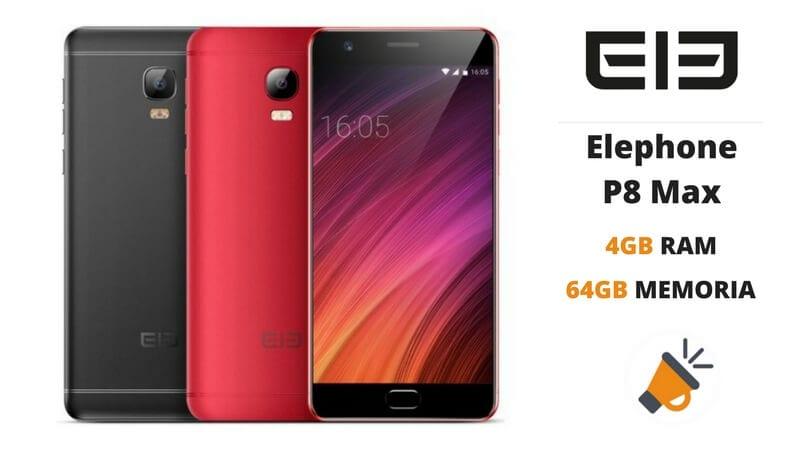 oferta elephone p8 max 4gb ram 64gb barato SuperChollos