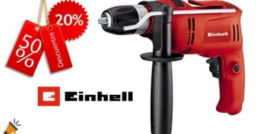 oferta Taladro percutor Einhell TC ID 650 E barato descuento amazon SuperChollos