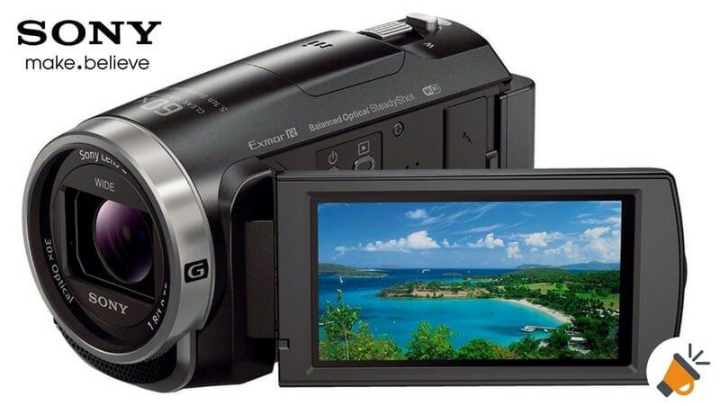 oferta videocamara sony hdr cx625 barata SuperChollos