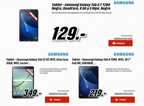 samsung days media markt descuentos inform%C3%A1tica tablet disco duro ofertas SuperChollos