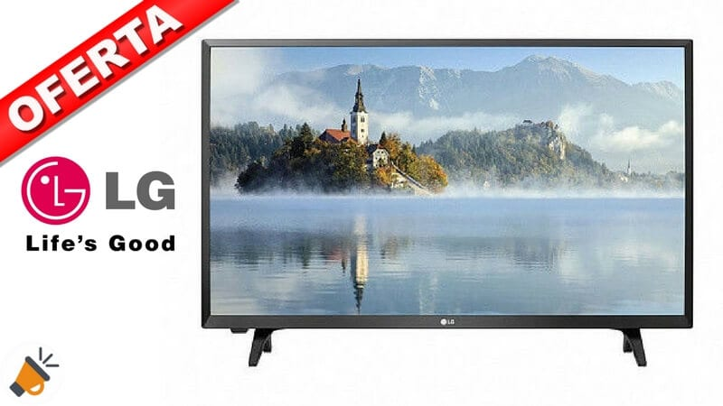 oferta LG 32LJ502U barata descuento amazon SuperChollos