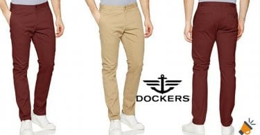 ofertas Dockers Washed Khaki Skinny Stretch Twill baratos descuento amazon SuperChollos