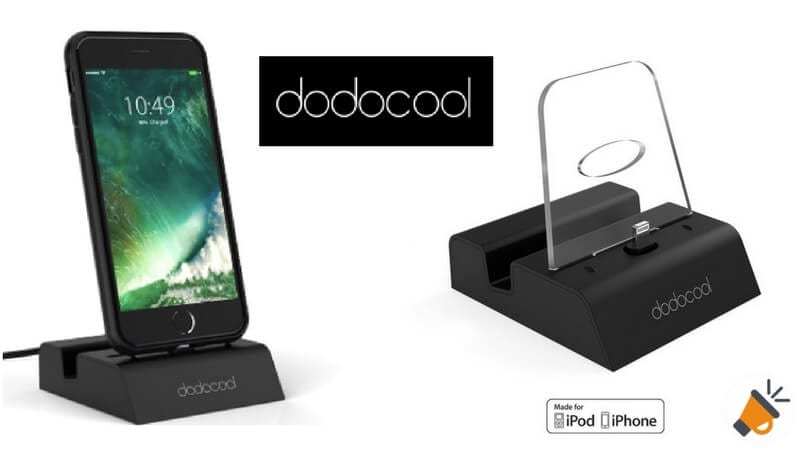 oferta dodocool Base de Carga iPhone barata descuento amazon SuperChollos