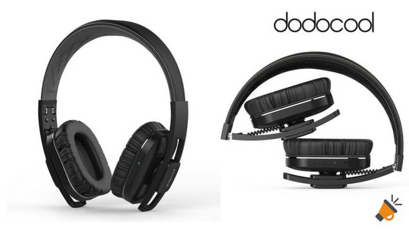 oferta dodocool auriculares diadema baratos descuento amazon SuperChollos
