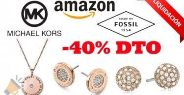 Ofertas joyas baratas amazon michael kors fossil descuentos SuperChollos
