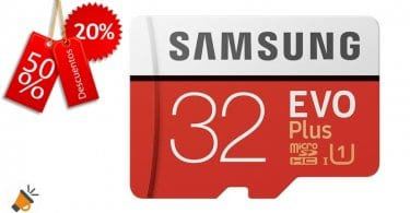 oferta Tarjeta de memoria microSD de 32 GB samsung evo plus barata amazon SuperChollos