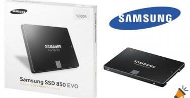 oferta Disco SSD Samsung 850 EVO de 500GB barato descuento amazon SuperChollos
