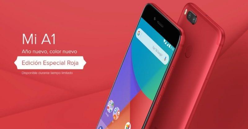 Xiaomi Mi A1 rojo oferta exclusiva gearbest SuperChollos