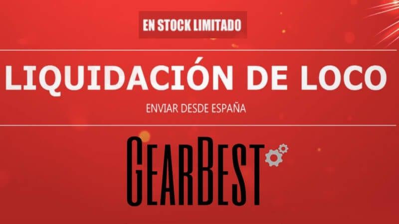 ofertas gearbest stock limitado SuperChollos