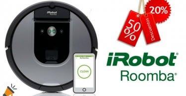 oferta Robot aspirador iRobot Roomba 965 barato descuento ebay SuperChollos