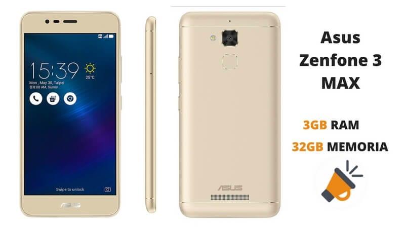 oferta Asus Zenfone 3 MAX barato descuento amazon SuperChollos