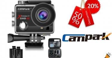 oferta Ca%CC%81mara deportiva Campark ACT74 4K barata descuento amazon SuperChollos