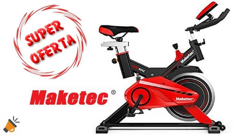 oferta Bici estatica Maketec barata descuento ebay SuperChollos