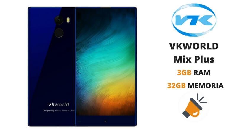 oferta VKworld Mix Plus barato rebaja SuperChollos