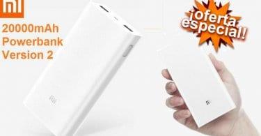 oferta Xiaomi Power Bank 2 20000mAh barata descuento banggood SuperChollos