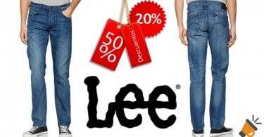 oferta Pantalones vaqueros Lee Daren Regular baratos descuento amazon SuperChollos