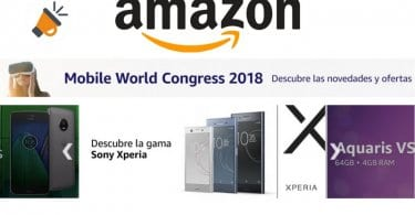 ofertas moviles amazon mobile world congress 2018 SuperChollos