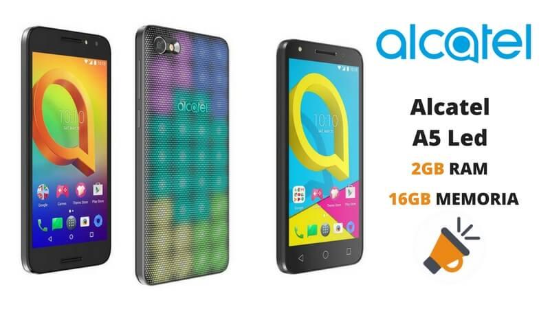 oferta Alcatel A5 Led barato descuento amazon SuperChollos