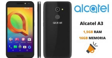 oferta Alcatel A3 barato descuento amazon SuperChollos