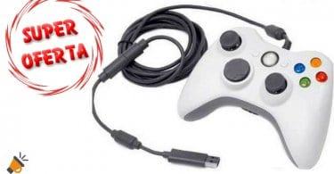 oferta Mando clo%CC%81nico con cable Xbox 360 barato descuento gearbest SuperChollos